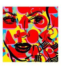 Beyonce - IKE illustration