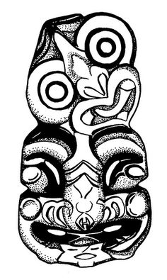 Heiki tiki, from New Zealand. Maori Designs, Tribal Tattoo Designs, Tribal Tattoos, Maori Tattoos, New Zealand Tattoo, New Zealand Art, Maori Tribe, Maori Patterns, Tiki Art