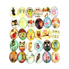 Find More Jewelry Findings & Components Information about 35x45 mm Oval Glass Pattern Cabochon Handmade Owl Pattern Jewelry Accessories Findings Supplier 20pcs/lot,High Quality jewelry accessories,China lot lot Suppliers, Cheap handmade cabochons from Shangcheng Jewelry Co.,Ltd on Aliexpress.com