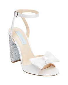 Blue by Betsey Johnson Bridal Shoes