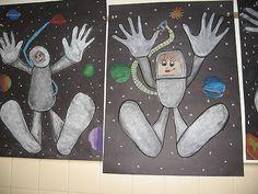 Summer Camp Art, Summer School, Classroom Art Projects, 5th Grade Art, Ecole Art, Art Lessons Elementary, School Themes, Art Programs, Space Theme