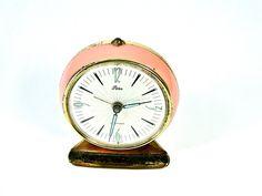 Vintage Alarm Clock Art Deco German Wind Up by SueEllensFlair, $45.00