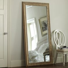 Pritchard Wall Mirror From Birch Lane Featuring A Beveled Edge And Pale Grained Wood
