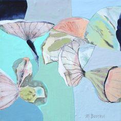"Saatchi Art Artist Marsha Boston; Limited Edition Print, ""Alcea"