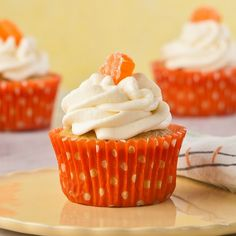 Orange Creamsicle Cupcakes, Gluten Free		 Can easily be made vegan... Although original recipe is not.