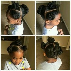 Like this but with ponytails twisted instead