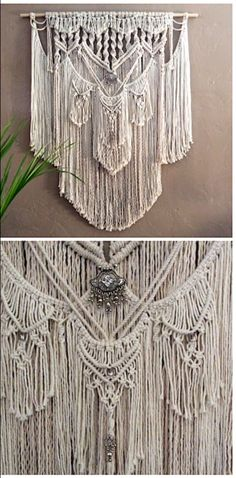 Large macrame wall hanging to transform your space into a Bohemian retreat. Find yours here.