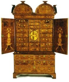 Cabinet - Byfield, John - 1700, Yorkshire, England.