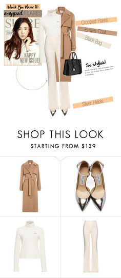 """""""No 290:Would You Wear It: Cropped Flares"""" by lovepastel ❤ liked on Polyvore featuring Jason Wu, Jimmy Choo, Sea, New York, Giambattista Valli, Yves Saint Laurent, women's clothing, women's fashion, women, female and woman"""