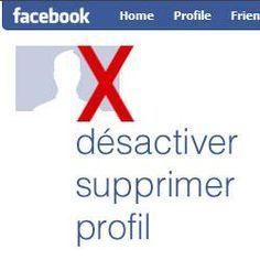 Comment désactiver, fermer, effacer ou supprimer votre compte Facebook?