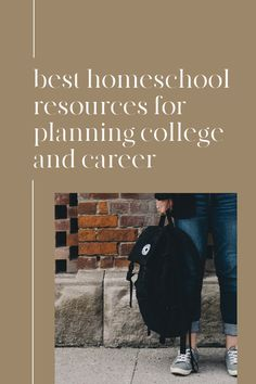 Best Homeschool Resources for Planning a College and Career #homeschool #highschool #collegeprep Life After High School, High School Years, High School Classes, Homeschool Books, Homeschool High School, Homeschooling, Career Aptitude Test, High School Credits, Apply For College