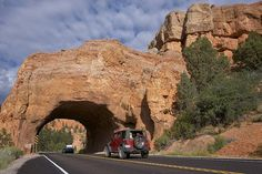 Utah Highway 12 Scenic Byway, Road Arch near Bryce by Peter Thody  American road trip Adventures by   Peter Thody.
