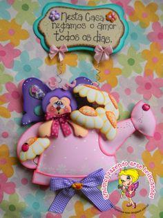 Qmimos - Hacer ¡broma Art: Girlanda - Pequeña mariposa