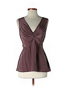 Practically New Size Sm BCBGMAXAZRIA Sleeveless Silk Top for Women
