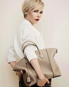 Borse Louis Vuitton 2015: la nuova collezione autunno-inverno (con Michelle Williams) by Encanthè  http://www.encanthe.com/2014/09/borse-louis-vuitton-2015-catalogo.html