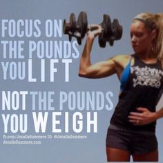 Who agrees!?! I've seen this quote of mine going around lately on IG and FB (with an older pic of mine), and posted by WOD Nation! I'm flattered the message is being spread by others. Feel free to share