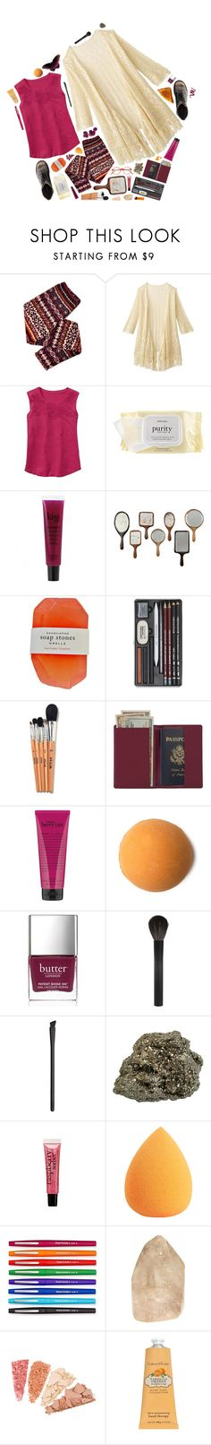 """""""fall berries during summer sunshine"""" by emmielu-01 ❤ liked on Polyvore featuring philosophy, Royce Leather, Butter London, Giorgio Armani, NARS Cosmetics, Paper Mate and Crabtree & Evelyn"""
