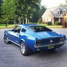 """""""@thatblue67fastback beautiful Mustang! Check out @beverlyhillscarclub @beverlyhillscarclub @beverlyhillscarclub"""""""