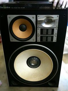 Technics speakers. Click photo for more pics and story.
