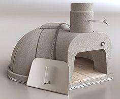 "Cuore Ovens Model 1000 Plus Gourmet Wood-Fired Oven Kit - 36.2"" internal fire chamber diameter."