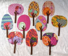 Paper Trees - Friendly Forest Quaint Cottage Collection
