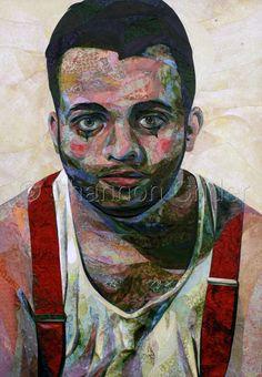 "Contemporary - ""The Clown"" (Original Art from Shannon Crider)"