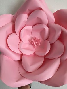 Giant paper flower by Mariflorhez on Etsy