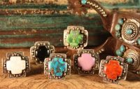 VINTAGE REVIVAL CROSS RINGS!  VINTAGE REVIVAL HAS CREATED THE MOST BEAUTIFUL CROSS RINGS THAT LOOK GREAT WITH EVERYTHING! BEAUTIFUL STONES BEZEL…  $259.00