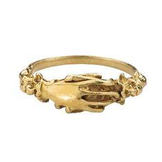 Fede Ring, 16th century, British, gold