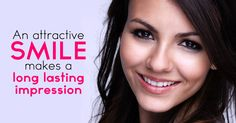 Did you know? An attractive smile makes a long lasting impression. Make an Appointment: 330-336-3131 / 330-784-4441