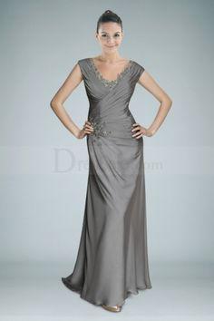 Popular Scintillating Sheath Dress with Beadings and Pleats Anniversary Dressth Wedding