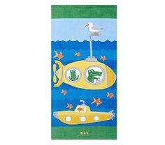 Kids' Beach Towels & Beach Towels For Kids | Pottery Barn Kids