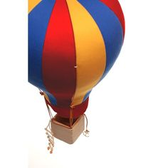 Hot Air Balloon Hanging Decoration (Large)