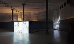 Herzog & de Meuron have transformed Tate Modern's subterranean former oil tanks into a space for live art, performance, installation and film. Pictured is 'The Tanks Commission' (installation view) by Sung Hwan Kim, 2012