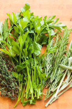 I find that I am a better cook when my kitchen is stocked with fresh herbs. There's just something about them that always gives me a little more inspiration, whether I am following a particular recipe or simply adding a little sprinkle to whatever I may be creating for a bolt of flavor and freshness. But the key to using fresh herbs is keeping them, well, fresh. Buy a big bunch of parsley or basil and toss it in the fridge, and it will more than likely be wilted and sad the next day. Not ...