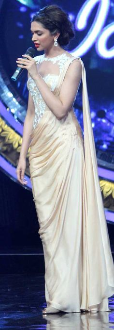 Deepika Padukone in indian idol
