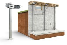 Basement Repair, Basement Systems, Basement Plans, Basement Remodeling, Foundation Repair, House Foundation, Bathroom Tile Installation, Deck Footings, Townhouse Designs