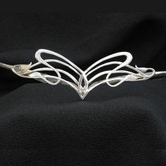 Elvish Elven Fairy Costume Bridal Wedding Tiara by TribalCelt, $149.00