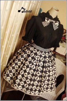 e04c64984b4 HMHM Fairytale Black Cotton Shirt