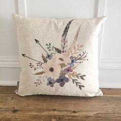 Cozy up your living space with our handmade linen pillow covers by So Vintage Chic! // sovintagechic.com