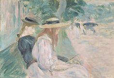 Sur un banc au Bois de Boulogne, Berthe Morisot, 1894Musée d'Orsay, Paris,