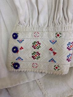 Folk Clothing, Sashiko Embroidery, Couture Fashion, Needlepoint, Cross Stitch, Traditional, Detail, Sewing, Shirts