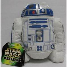 """Star Wars R2-D2 Plush 6"""" Beanie Buddies $14.01"""