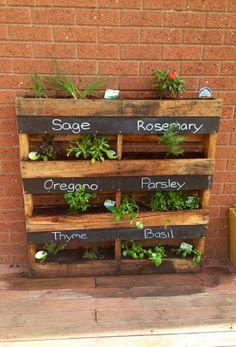 Herb Planter Box