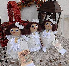 Bábiky - Anjelici...z lásky ♥ - 6143177_