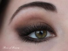 """""""Soft & smokey cat eyes"""" by Roses of Beauty"""