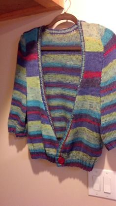 knitted sweater, handmade, and color, stripped, beautiful.