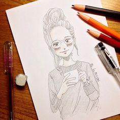 tea | #mekaworks #drawing