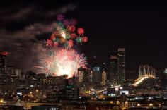 New Years Fireworks, San Francisco by Rahul Raguram on 500px