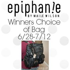 Epiphanie Bag Giveaway! 07/12 - Tales From A Southern Mom